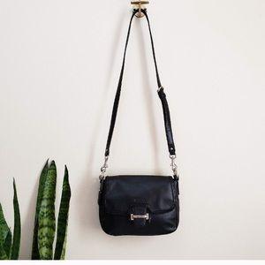 AUTHENTIC COACH purse, black leather